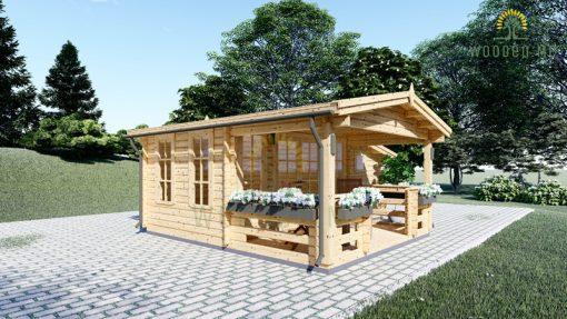 Garden house ISLA 18m² + terrace