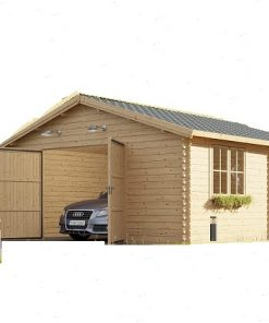 Wooden garages/ Carports