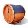 Sauna barrel 1.7 m - Pinewood