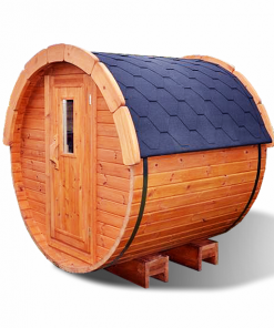 Sauna barrel 1.7 m - Pinewood