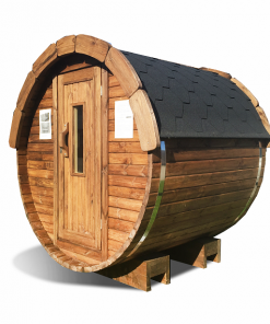 Sauna barrel 1.7 m - thermo wood