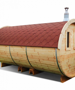 Sauna barrel 4.8 m - Pinewood