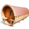 Sauna barrel 4.8 m - thermo wood