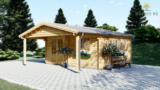 Wooden house CAMILA (6m x 4m)