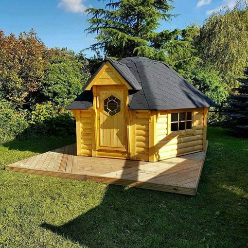 Camping cabin 9.2 m²