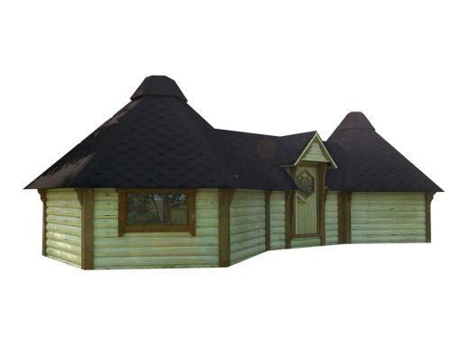 Kempingas cabin 9.2 m² + 9.2 m²