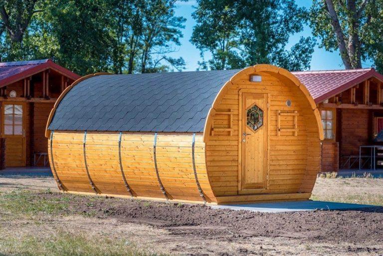 Sleeping Camping barrel ICE-VIKING 4.8m x 3m