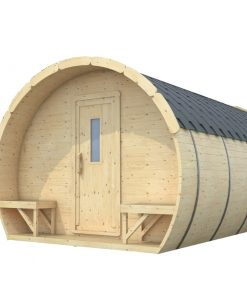 Sleeping Camping barrel ICE-VIKING 4.8m x 3m