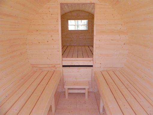 Camping barrel 4.4 m