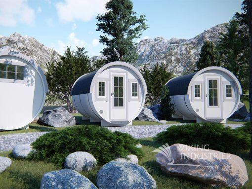 "Sleeping camping ""barrel"" 3.3 m (Mini family size)"