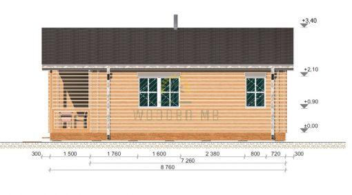 Wooden house Laetitia