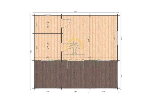 Alma floor plan