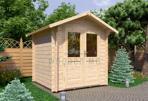 Garden shed BEDFORD 2.2 x 2.2m, 28mm