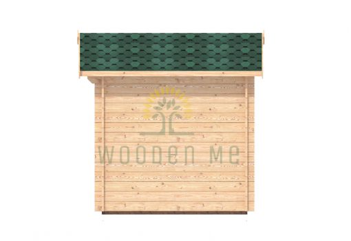 Garden shed BEDFORD 2.2 x 2.2m, 28mm right