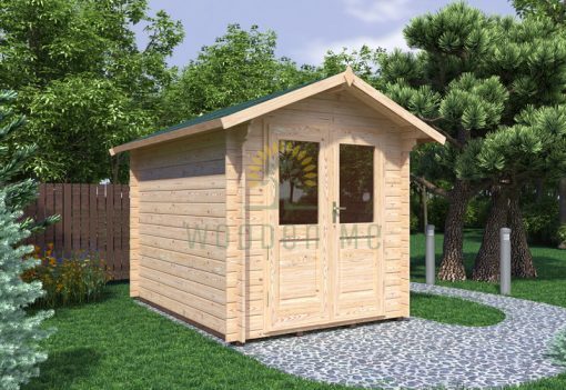 Garden shed BEDFORD 2.2x3m 28mm
