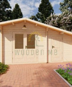 Wooden cabin DECO 5m x 3m 44 mm