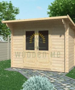 Garden shed EDITH 3x2m, 28mm