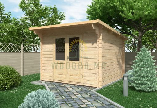 Garden shed EDITH 3x3m, 28mm