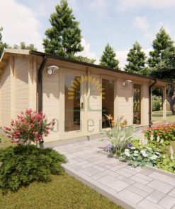 Wooden cabin EMILY 4.042 m x 7.8 m 44 mm