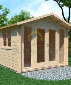 Garden shed EMMA 3x3m, 28mm