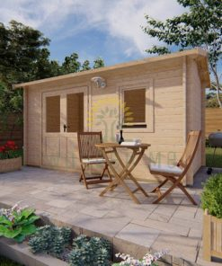 Garden shed Erna 2,5 x 4,5m, 44 mm