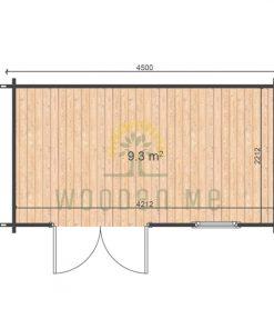 Erna 2.5x4.5 44mm floor plan