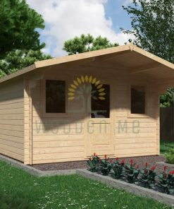 Garden shed GENOVA 3,8x3m, 28 mm