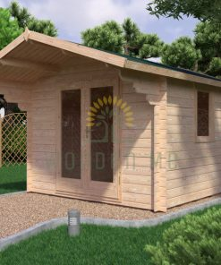 Garden shed IMPERIAL 3x3m, 28 mm