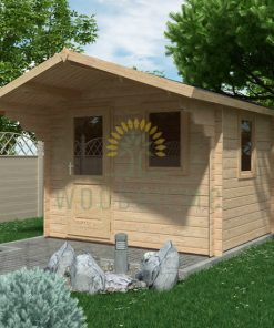 Garden shed MODENA 3×2.5m, 28 mm