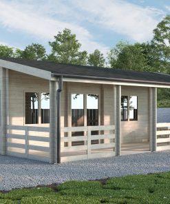 Wooden summerhouse Lucy 54.5 m2 + 32 m² terrace