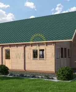 Wooden house Felix 6 x 10 68 mm