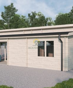 Summer house with terrace - Eve ( 49 m2 + 6 m² terrace)