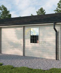 Wooden house Oscar (8,87 m x 10,04 m) 68 mm