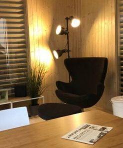 Insulated Cube - Garden Office 3 x 4 m