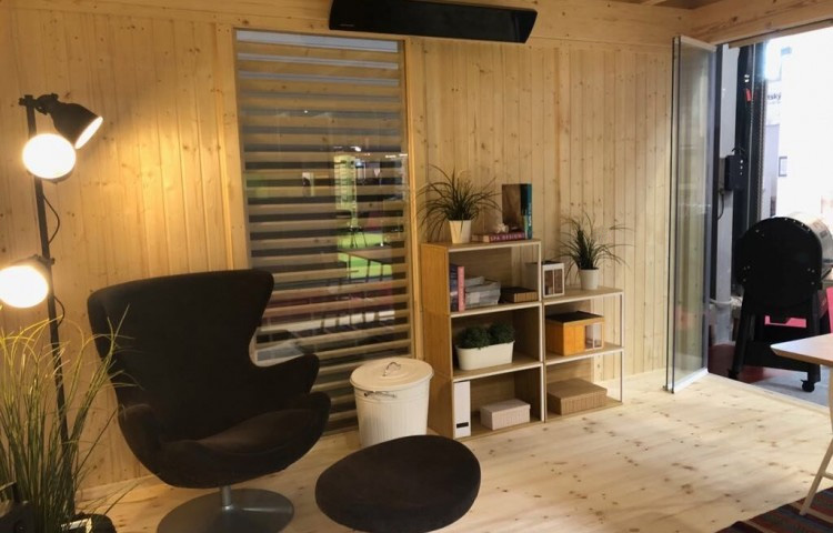 Insulated Cube - Garden Office 3 x 4 m