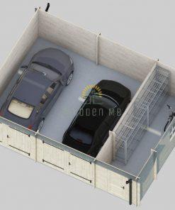 Double garage favori