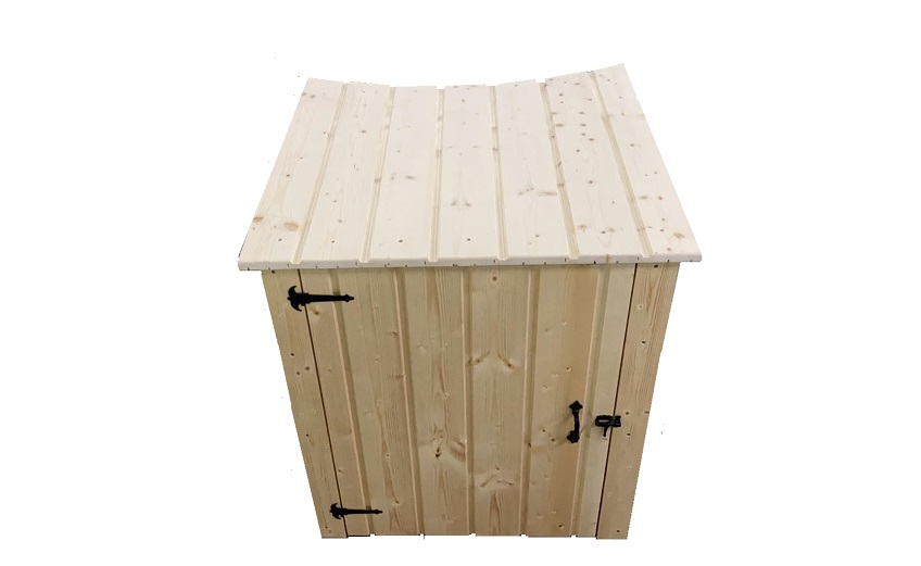Wooden box for sand filter