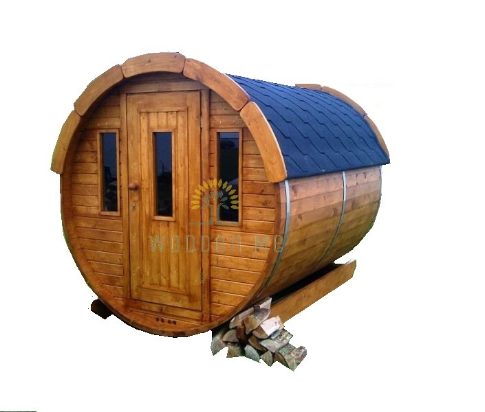 Sauna barrel 2.5 m Ø 1.9 m