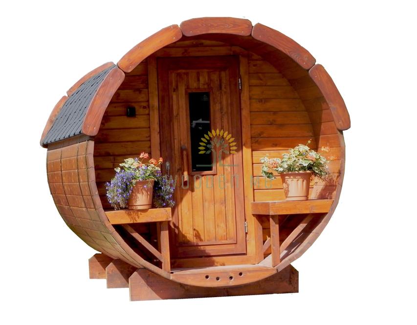 Sauna barrel 2.5 m Ø 1.9 m