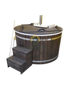 Mini fiberglass hot tub 1,54m/170 m