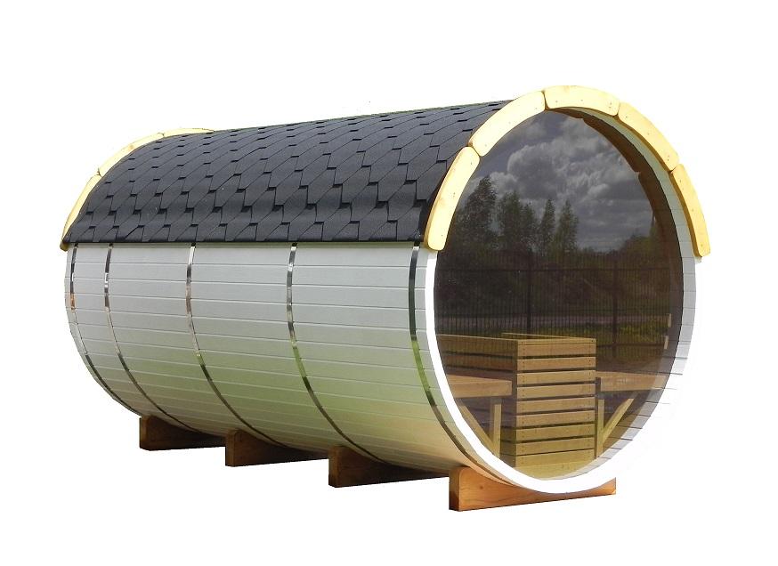 Sauna barrel 3-m-1.9-with-panorama-window