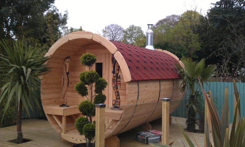 Sauna barrel 3.5 m