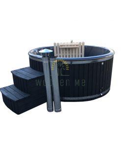 Wellness hot tub 1.80/2.00 m (Inside heater)