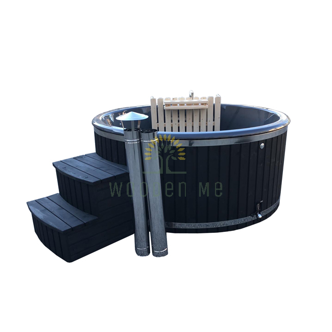 Wellness hot tub 1.80/2.00 m (Inside heater)