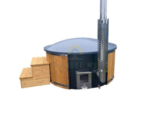 Wellness hot tub 1.8/2.0 m with integrated heater