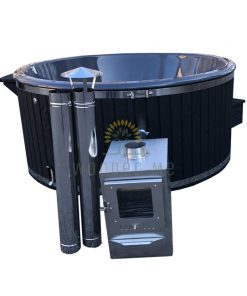 Wellness hot tub 1.80/2.00 m (Outside heater)