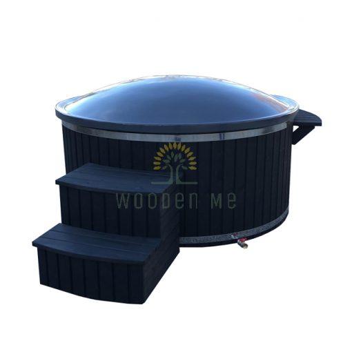 Wellness hot tub 1.80/2.00 m (Outside heater)