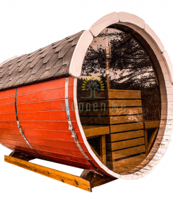 Sauna barrel 2.5 m Ø 2.2