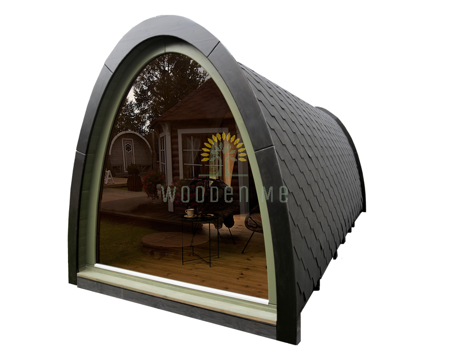 Camping pod with side entrance 2.4×5.9