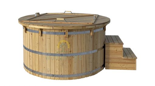 Larch wood hot tub